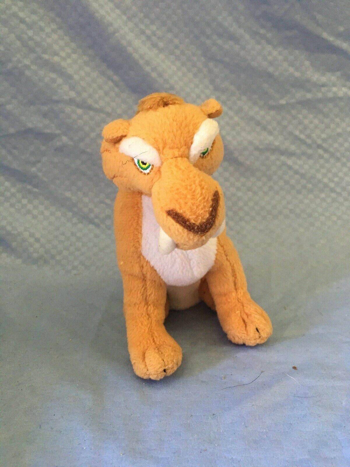 Ty Plush Diego Ice Age Saber Tooth Tiger Stuffed Animal Toy Brown Beanie Baby For Sale Online