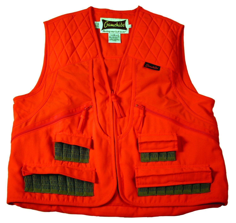NEW GameHide Pheasant Vest Blaze Orange 3A0 OR-M Medium