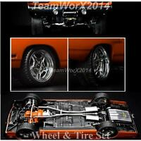 Gmp 18828 Street Fighter Mag Wheel And Tire Pack 1:18