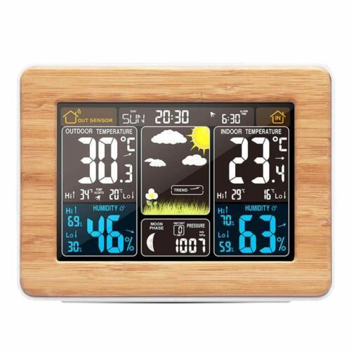 barometro termometro Temperatura Konesky Stazione Meteo Wireless V6p