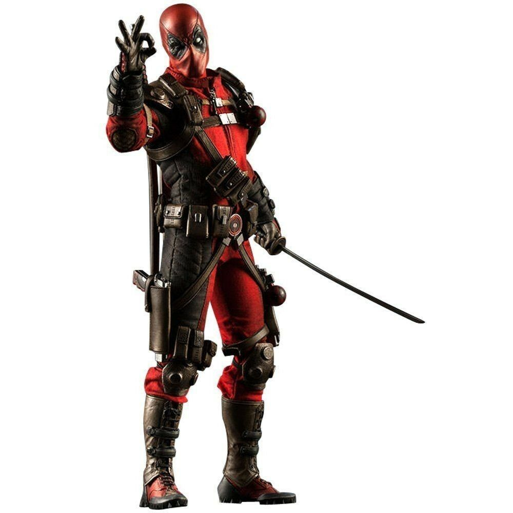 1 6 Scale Fully Poseable Sideshow Sixth Scale  001 - Deadpool  JAPAN F S S1894