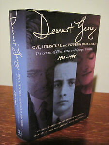 1st-Edition-DEAREST-GEORG-Elias-Canetti-LETTERS-Nobel-Prize-Correspondence