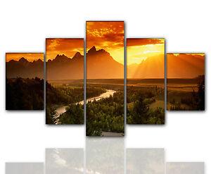 Designbilder-160x80cm-5-teilig-auf-Leinwand-und-Keilrahmen-Wohnzimmer-modern-XXL