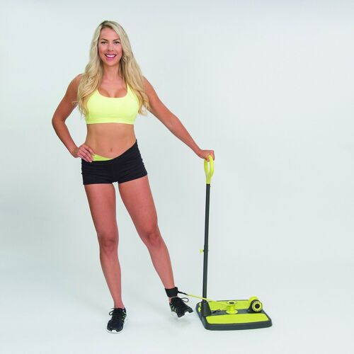 Booty Maxx Home Workout Exercise Equipment With Resistance Band Technology