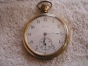 Dating elgin pocket watch cases