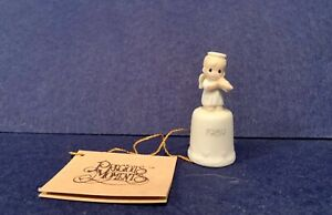 Precious-Moments-Thimble-Once-Upon-A-Holy-Night-1990-Special-Issue-523844-w-tag