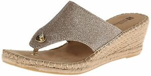 9f544e512bb0 Image is loading White-Mountain-Women-039-s-Beachball-Wedge-Sandal