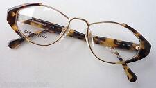 Eschenbach Metall+Hornoptik Oldschoolbrille GR:M Gestell Rahmen Frauen Rarität M