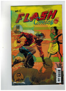 FLASH-22-1st-Printing-Lenticular-Rebirth-The-Button-2017-DC-Comics