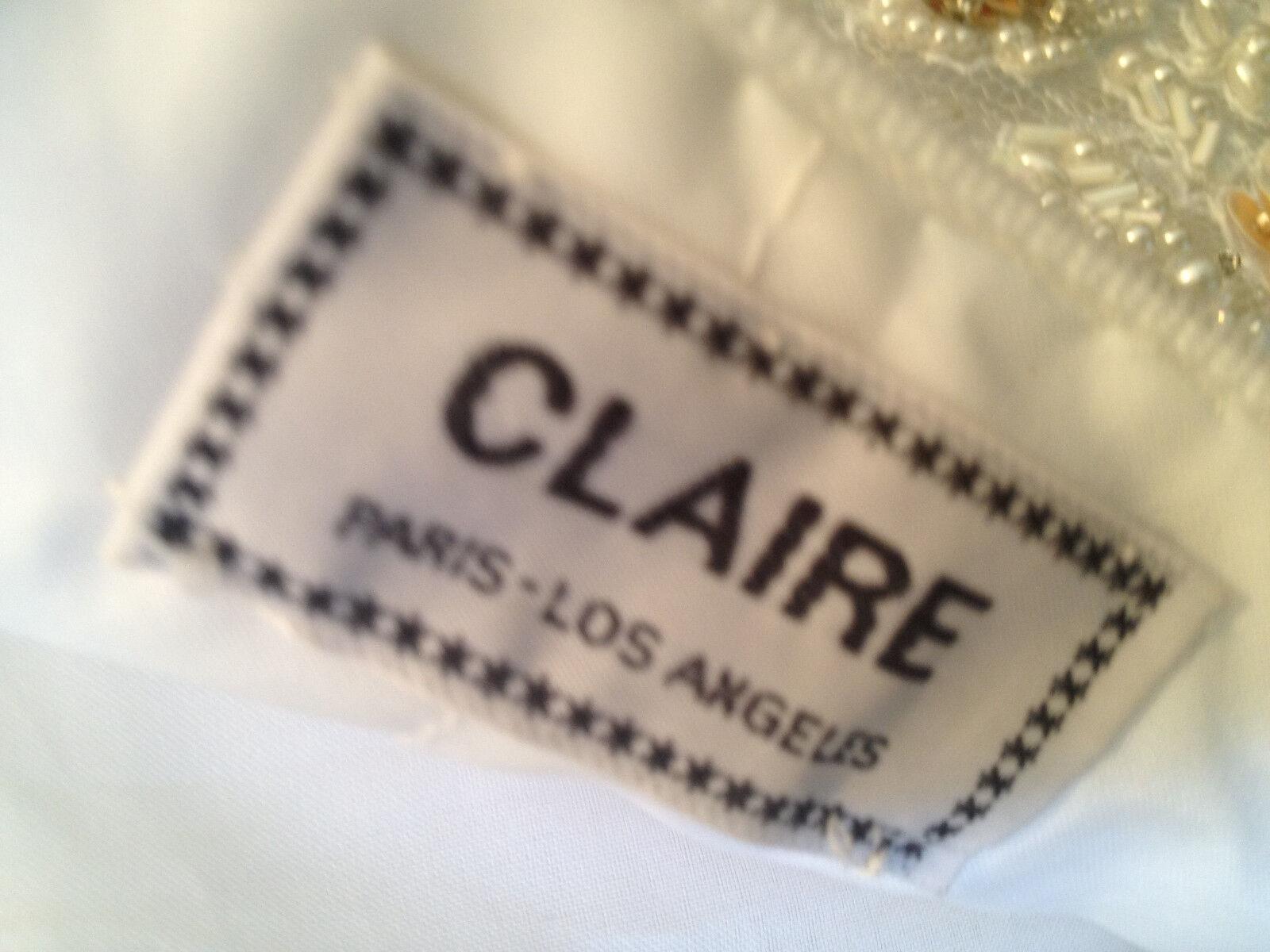 Womens Claire Beaded Wedding Dress  - image 4