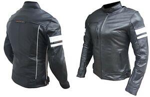 Nuova-giacca-giubbotto-moto-pelle-bovina-donna-protezioni-CE