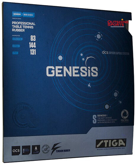 Stiga GENESIS S Table Tennis Rubber