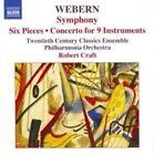 Webern: Symphony; Six Pieces; Concerto for 9 Instruments (CD, Jan-2005, Naxos (Distributor))