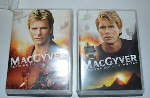 MacGyver - The Complete Series DVD, 2015, 39-Disc Set   seasons 1,2,3,4,5,6,7,