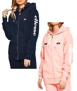 tovagliolo gruppo musicale Misterioso  ellesse Womens Serinatas Zip Hooded Retro Logo Sport Sweatshirt Ladies  Sweat Top   eBay