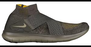Nike Free RN Motion Flyknit Sequioa/Medium Olive Men's Shoes* Size 11.5