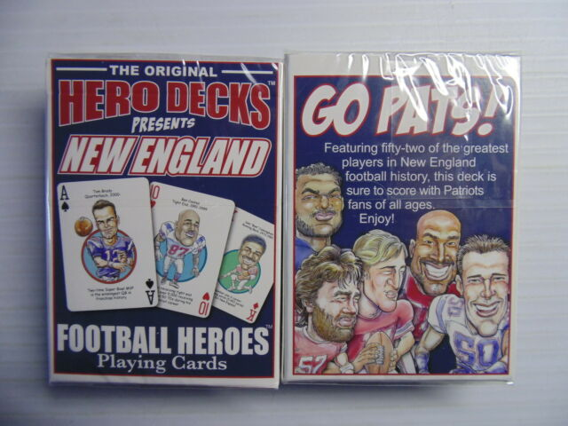 NEW ENGLAND PATRIOTS PLAYING CARDS DECK NEW