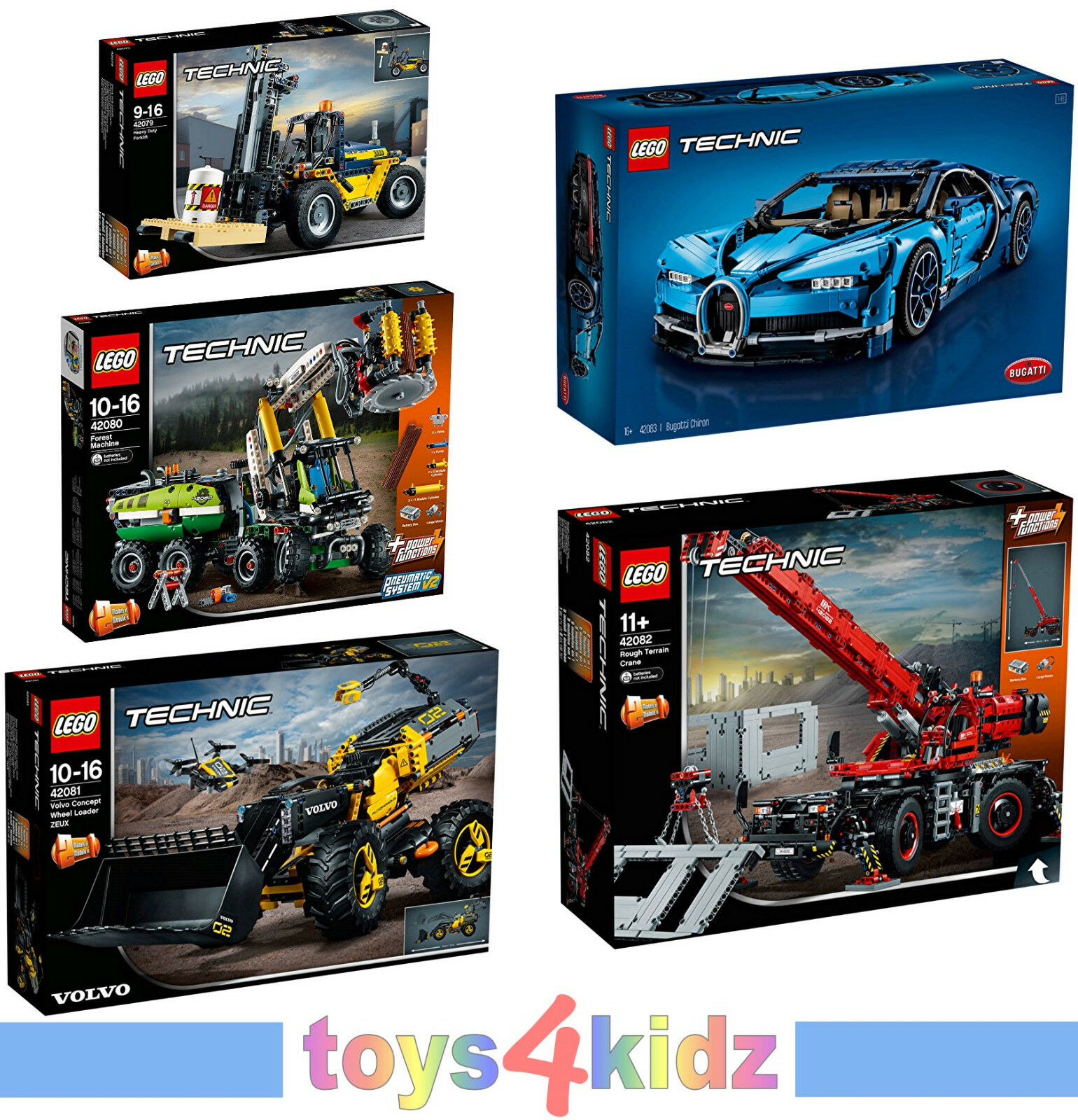 LEGO® TECHNIC 42079 - 42083  zum Auswählen   NEU / OVP