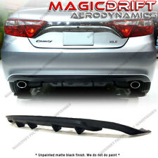 Item 4 For 15 17 Toyota Camry Mdp Style Fin Rear Per Lower Diffuser Lip Le Se Xle