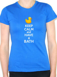 Fun Themed Women/'s T-Shirt Caribbean KEEP CALM AND GO TO BERMUDA America