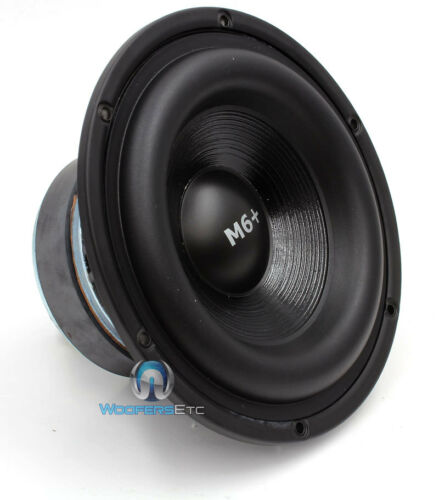 "MIDBASS 6W0 M6+i SINGLE  CDT AUDIO 6.5/"" MID-WOOFER SUBWOOFER CAR SPEAKER HD-M6"