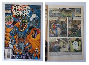 Force-Works-4-Marvel-Comics-Ottobre-1994-Ember-protector-of-Slorenia