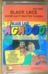 28-Party-Starters-Black-Lace-Agadoo-amp-More-Cassette-Tape