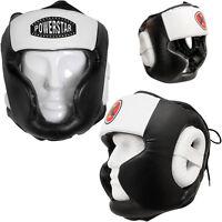 New Boxing Head Guard Kick Face Protector Helmet MMA Martial Arts Training Gear