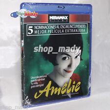Amelie / Le Fabuleux Destin d' Amélie Poulain Bluray Reg. A Audio ESPAÑOL LATINO