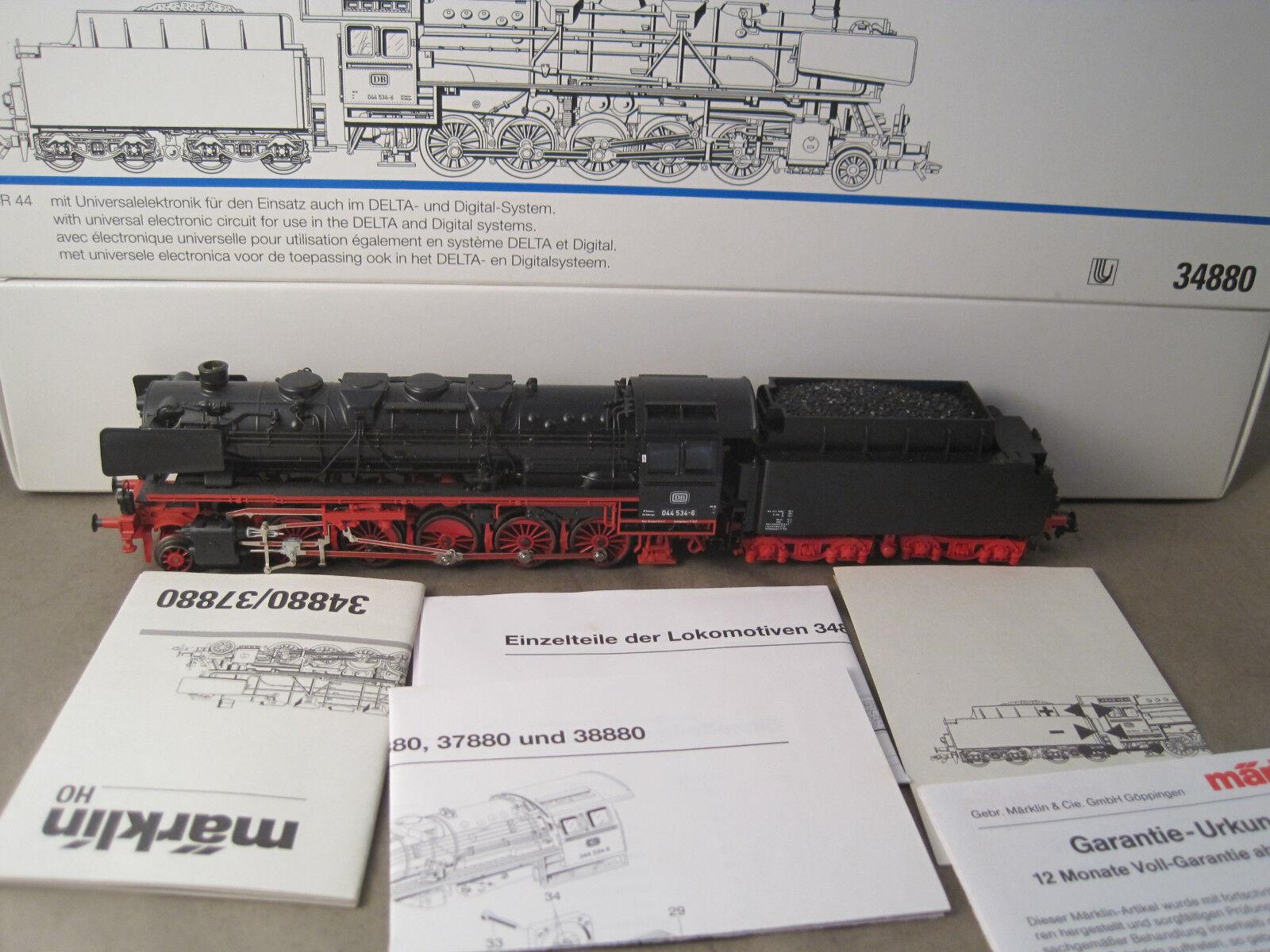 h0 34880 BR 044 DB + fumo produttori Delta come nuovo OVP + istruzioni