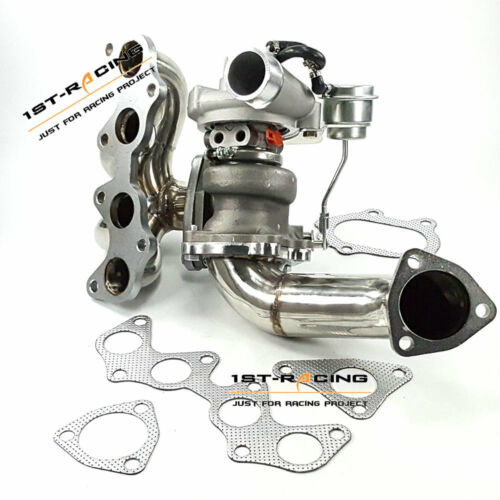 For Toyota Starlet Glanza EP91 EP82 TD04 Turbocharger Exhaust Manifold+Downpipe