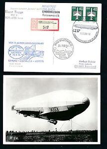 97392) Rda Zeppelin Atterrissage Trajet... Leipzig-eisenberg... So-kte Reco 1988 >-. Leipzig - Eisenberg..so-kte Reco 1988 >fr-fr Afficher Le Titre D'origine Cool En éTé Et Chaud En Hiver