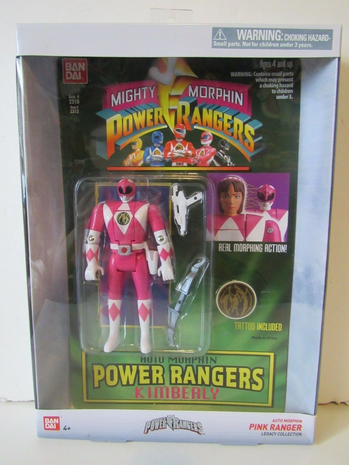 Power Rangers Legacy Collection Auto  Morphin Kimberly Rose Ranger Action Figure  confortable