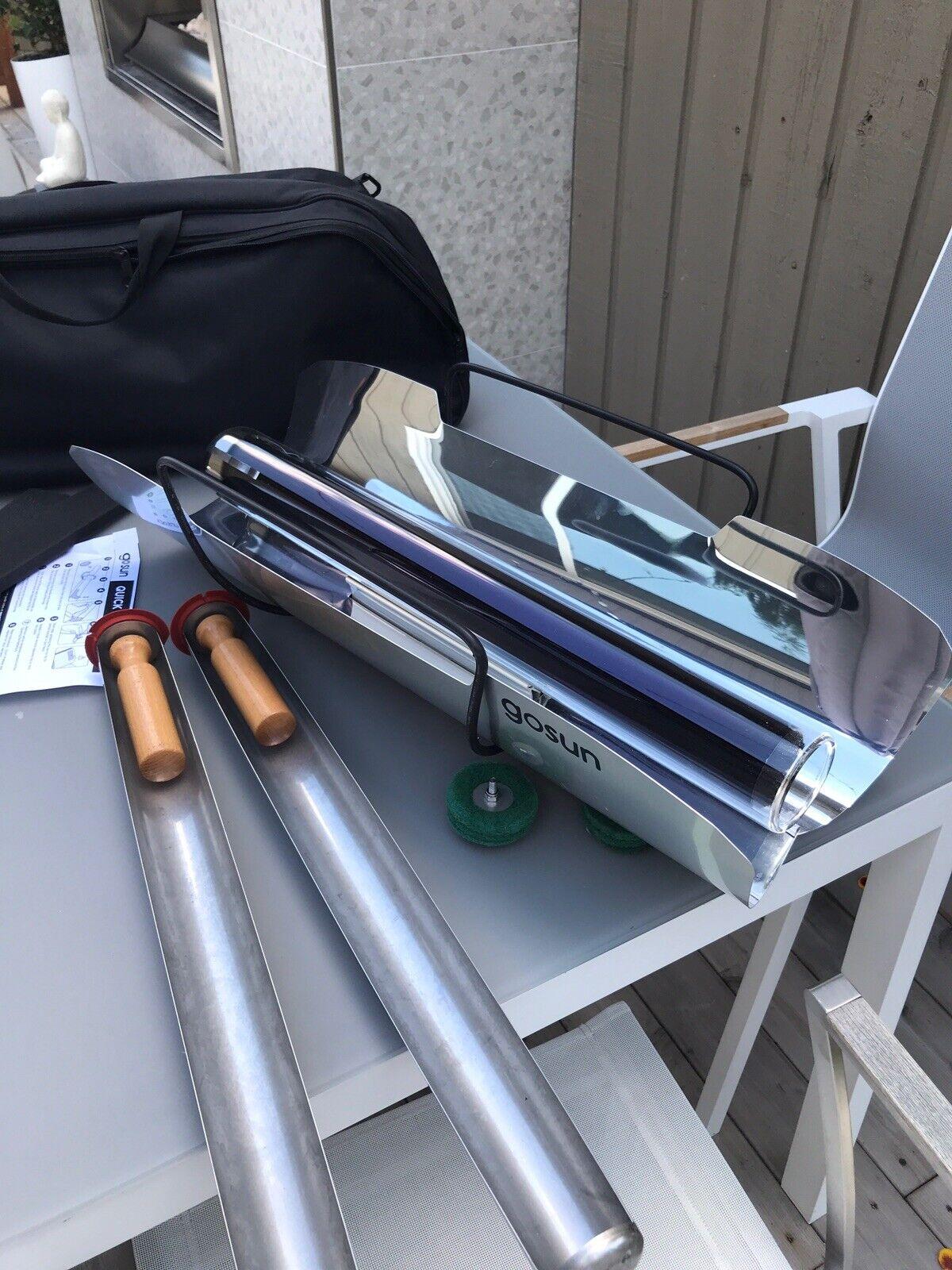 GoSun Stove Portable Solar BBQ mit Tragetasche.Sanft eingesetzt (sieht brandneu aus)
