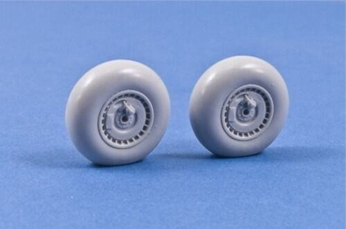 NEW 1:48 MasterCasters MST48012 Early Messerschmitt Bf-110 Weighted Wheels