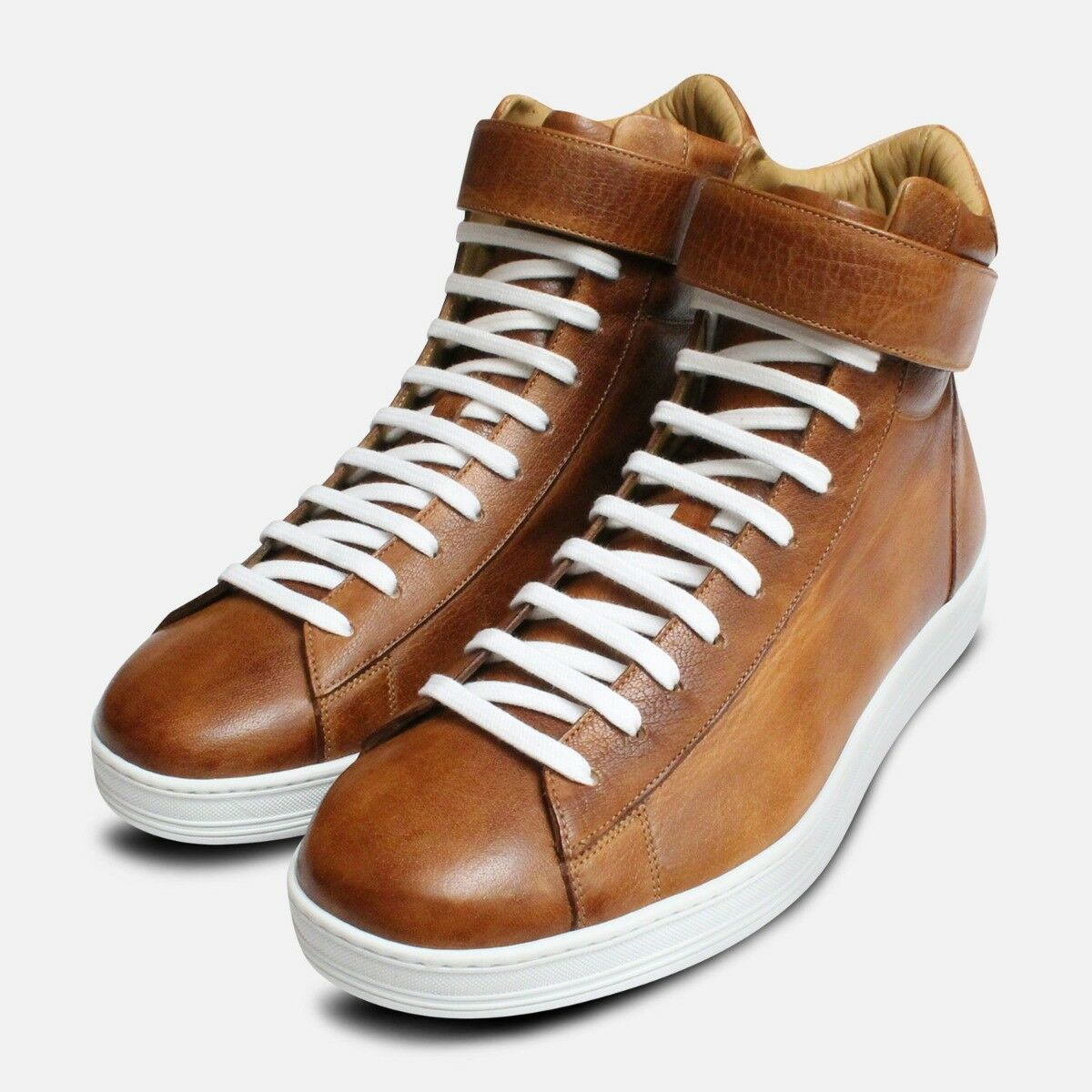 Luxury Buffalino Designer Cupsole High Tops