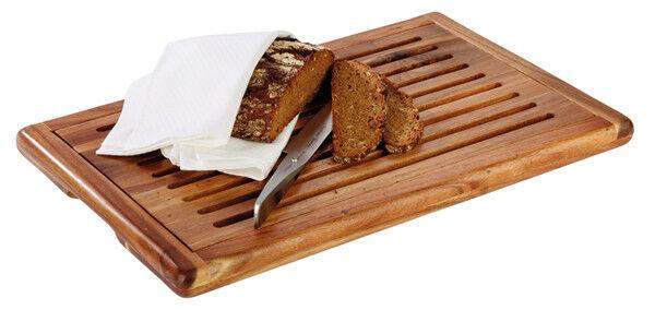 Brotstation Brotschneidestation Brotschneidebrett Brotbrett Holz Gastlando