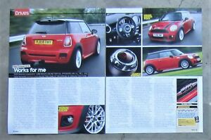 Mini Jcw John Cooper Works Hatch Car Auto Magazine Page