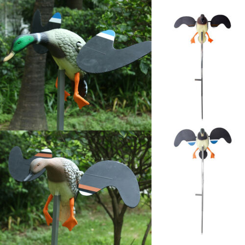 Outdoor Hunting Duck Decoy Electric Toy Garden Decoration Animal Ornament