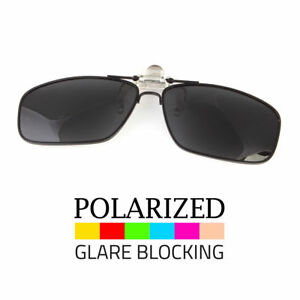 d3b2480559916 Polarized Flip Up Metal Clip On Sunglasses 100% UV 400 Protection ...