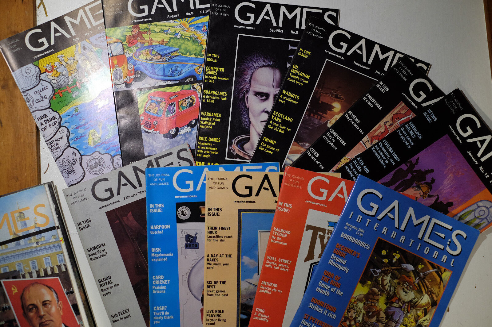 Games International Magazin No. 1-17 (1988-1990, 2004)