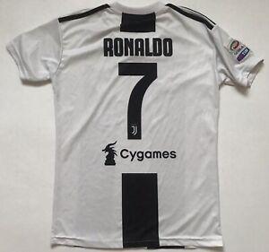 Ronaldo-Juventus-Jersey-2018-2019-Home-Small-Shirt-Soccer-Football-Adidas