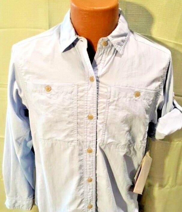 Railrider LADIES Shirt. Größe Xl. Glacier Blau. NEW