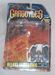 8743b47e9cc Image is loading 1995-Kenner-Gargoyles-Deluxe-Mighty-Roar-Goliath-Action-