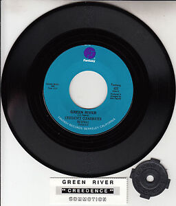 CREEDENCE-CLEARWATER-REVIVAL-Green-River-amp-Commotion-CCR-7-034-45-record-BRAND-NEW