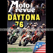 MOTO REVUE N°2259 ZUNDAPP KS 50 MONTESA 125 CAPPRA KAWASAKI 900 Z1 DAYTONA 1976