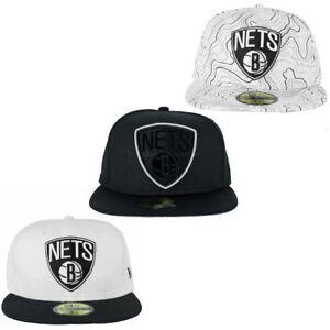 La imagen se está cargando New-Era-NBA-59Fifty-Brooklyn-Nets-Ajustado-Gorras - db07f3434cb