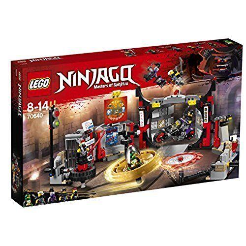 Lego Ninjago 70640 -  Caserne General de H.D.G. de 8 à 14 Ans  promotions discount