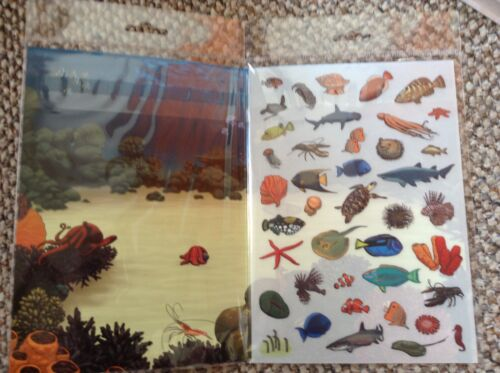Ocean Life AND Countryside Adventure Rub Down Transfer Activity Packs