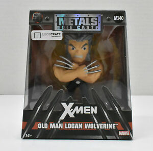 Old-Man-Logan-Wolverine-Metals-Die-Cast-Loot-Crate-Exclusive-X-Men-Marvel-New